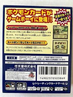 Pokemon Trading Card GB Cib Dragonite Promo Japanese Holo rare GAME BOY