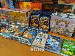 Pokemon Vintage Box, Guaranteed Sealed English WOTC Pack plus more! Ultra Rare