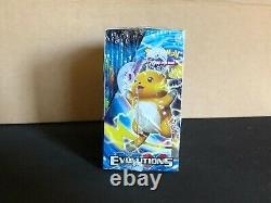 Pokemon XY Evolutions Booster Box Factory Sealed Unopened FIRST PRINT RUN RARE