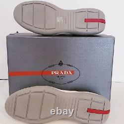 Prada America's Cup Sneakers, SUPER RARE, White, Sz 10 Incl dust cover/box