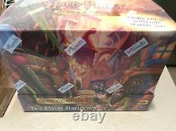 RARE! Harry Potter Two Player Starter Set Box NEW Trading Card Game Display