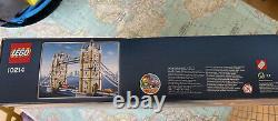 RARE LEGO CREATOR LONDON TOWER BRIDGE 10214 / SEALED 2010 box damage but new