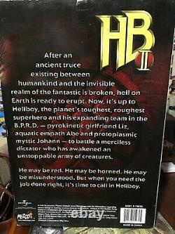 RARE NEW IN BOX Hellboy 2 The Golden Army 18 Inch Figure Mouth Open