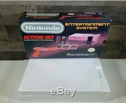 RARE NEW IN BOX Original Nintendo Entertainment System Action Set Gray VTG