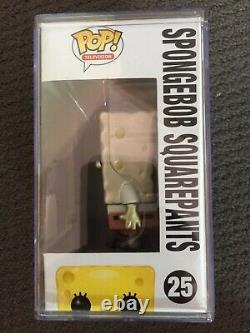 RARE New in Box Funko Pop TV Spongebob Squarepants Metallic Sellabration 2013