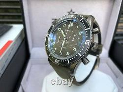RARE Zenith Pilot Cronometro Tipo CP-2 Flyback Chrono Watch with Box & Papers