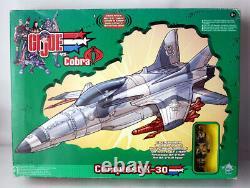 Rare 2002 G. I. Joe Vs Cobra Conquest X-30 Sound Attack Plane Hasbro New Sealed