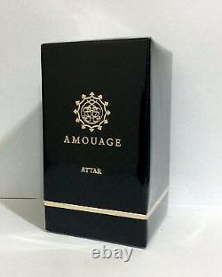 Rare Black Box Amouage Attar SALAMAH 12 ML New in Box. Salama