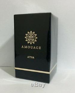 Rare Black Box Amouage Attar SHAMS AL DOHA 12 ML. New in box