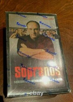 Rare Brand New Sealed Inkworks Sopranos Hobby Card Box! Auto Autograph Cards