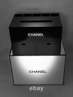 Rare Chanel VIP Gift Organizer / Jewelry box / Tissue & brush holder