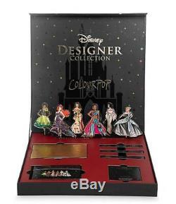 Rare! Colorpop Disney Princess Designer Premiere Pr Collection Makeup Box Set