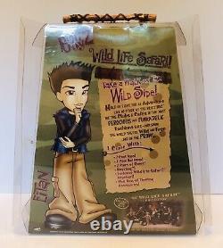 Rare Eitan Wild Life Safari Bratz Boyz Doll Boys MGA Entertain 2004 Unsealed Box