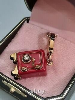 Rare Juicy Couture Secure Couture Charm Safe box red YJRU3870 new in box