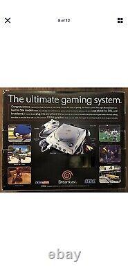 Rare Variant Sega Dreamcast Limited Edition Console Complete In Box
