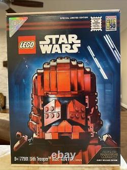 SDCC 2019 Lego Star Wars Sith Trooper Bust 77901 Unnumbered SAMPLE Ultra Rare