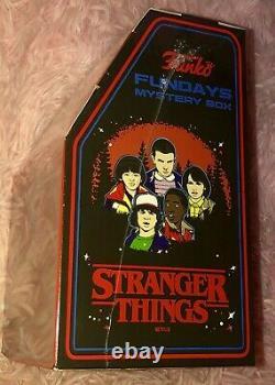 STRANGER THINGS Mystery FREDDY Arcade Box SDCC Funko Fundays 2018 RARE! 450 Made