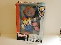 SUPER RARE 2007 Mcfarlane The Simpsons Lard Lad Deluxe boxed set New Mint