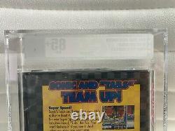 Sonic The Hedgehog 2 Sega Genesis Vga Graded 85+ Gold New Sealed In Box Rare