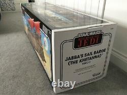 Star Wars Vintage Collection Jabbas Sail Barge Khetanna Haslab New in Box Rare