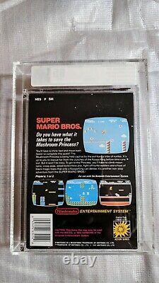 Super Mario Bros NES Sticker Sealed VGA 85 Extremely RARE PAL-A UK