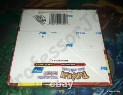 Topps Pokemon Series 1 Sealed Booster Box 36 Packs Sealed Rare Blue Label 1999