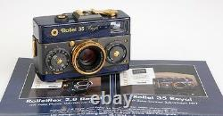 Very Rare Rollei 35 Royal Stirnehimmel Set In Wooden Display Box