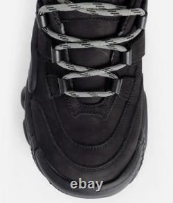 Vetements Swear Platform Sneakers Black Shoes Men New In Box Eu40 Us7 Rare F/s