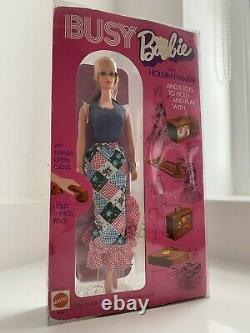 Vintage Busy Barbie 1971 NRFB Beautiful RARE