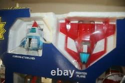 Voltron DX Dairugger XV Vehicle Team 1985 Matchbox Complete with Box Rare