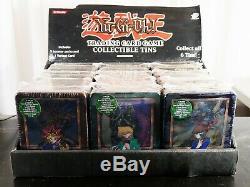 Yugioh Sealed Collector's Tin 2002-2003 Box Complete Set Yugi Kaiba Joey RARE