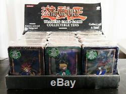 Yugioh Sealed Collector's Tin 2002-2003 Box Complete Set Yugi Kaiba Joey RARE