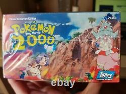 1 Brand New & Sealed Booster Box Pokemon Topps 2000 La Carte Movie Rare