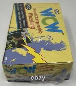 1992 Wcw Topps World Championship Wrestling Trading Card Factory Sealed Box Rare