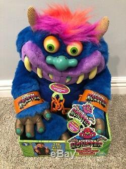 2001 Mon Pet Monster, Tout Neuf Avec Des Étiquettes, Boîte Originale, Manilles / Menottes-rare
