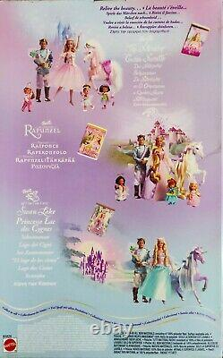 2003 Mattel B5828 Barbie Of Swan Lake Doll Retraité Très Rare Nib