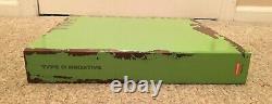 2011 Type O Aucun Plus Négatif Boîte D'enregistrement Set Nouveau Rare 1000 Faite Vert Vinyl Lp