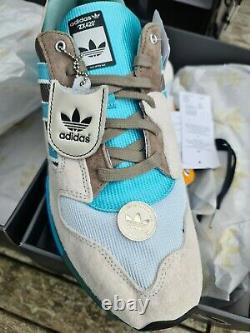 Adidas Zx420 Hanon Uk11 Us11.5 Luck Of The Sea 1/200 Coffret 2 Paires Rare Bnib