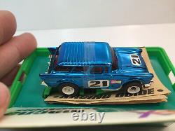 Afx Smt'57 Chevy Nomad New Box & Banded Rare Blue Chrome Model Motoring Aurora