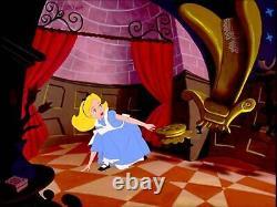 Alice Au Pays Des Merveilles Figurine Avec Boîte De Musique Disney Magasin Japon Kawaii Rare