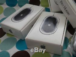 Apple Pro Mouse Black Usb Mac Nouvelle Usine Rare Scellé Retail Box M8733g / A M5769
