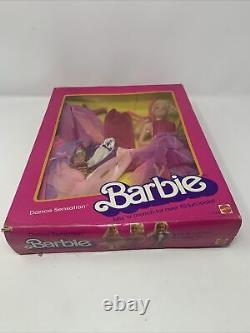 Barbie Dance Sensations Doll With Clothes All In Box Very Rare 1985 New In Box