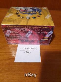 Base De Pokemon Set 1 Booster 1er Première Édition Mint Sealed Rare Espagnol