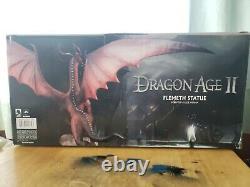 Bioware Dragon Age 2 Rare Flemeth 2012 Dark Horse Statue Avec Boîte Originale