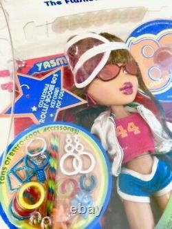 Bratz Flashback Fever Yasmin 80's Roller-boogie Doll New In Box Rare