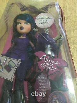 Bratz Midnight Dance Yasmin Doll Nouveau Dans La Boîte Scellée Avec Les Étiquettes Goth Nrfb