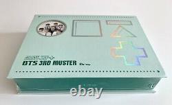 Bts Seeled 3ème Muster Army. Zip Blu-ray Boîte Pleine Marque Nouvelle Rare