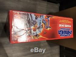 Captain Power 1987 Vintage Base Power Scellé En Usine Boîte Avec Boîte D'expédition Rare