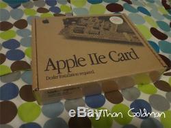 Carte D'apple Macintosh Scellé Nouveau Ile Shrinkwrap Box Vintage Rare Mac M0444ll / D