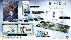 Child Of Light Ps3+ps4 Rpg Jeu Nouveau Rare Ozi Deluxe Collectors Edition + DLC